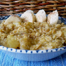 Banana Orange Oatmeal (Porridge)
