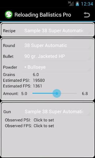 38 Super Auto Ballistics Data