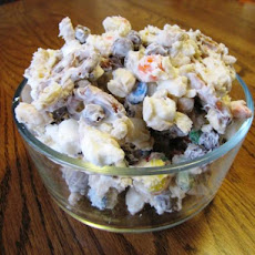 White Chocolate Party Mix and Candy Jumble