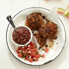 Poulet's Jerk Chicken Thighs