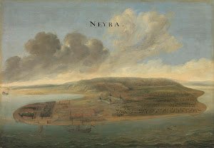 RIJKS: attributed to Johannes Vinckboons: View of Banda, Southern Moluccas 1663