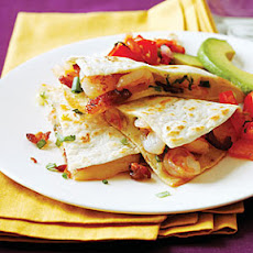 Shrimp and Bacon Quesadillas