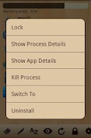 Screenshot of Wood Task Manager