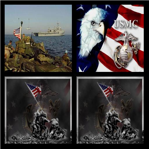 美海軍陸戰隊現場長城。 個人化 App LOGO-APP試玩