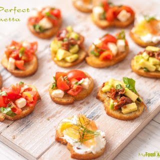 How to make The Perfect Bruschetta plus topping ideas