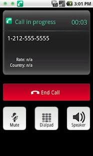 mobeecallsPro - VoIP Dailer - screenshot