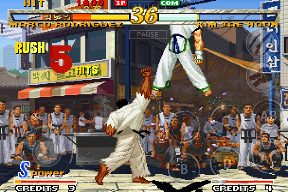 GAROU: MARK OF THE WOLVES Screenshot 11