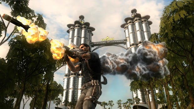 Peter Johansson offers Just Cause 2