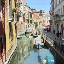 Canals of Venice by Tyler Mooney - Buildings & Architecture Architectural Detail
