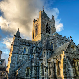 Christ Church Cathedral by Mike Shaw - Buildings & Architecture Public & Historical ( ireland, church, hdr, dublin, cathedral )