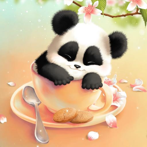 瞌睡熊貓即時壁紙 個人化 App LOGO-APP試玩