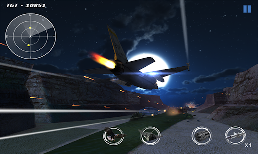 Delta Strike - Aircrafts - screenshot