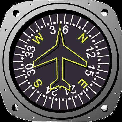Aircraft Compass LOGO-APP點子