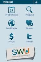 Screenshot of SWU 2011 - Programação