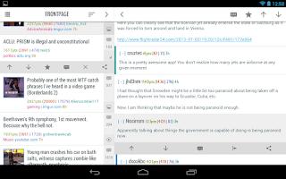 Screenshot of Flow for Reddit (Pre-Beta)
