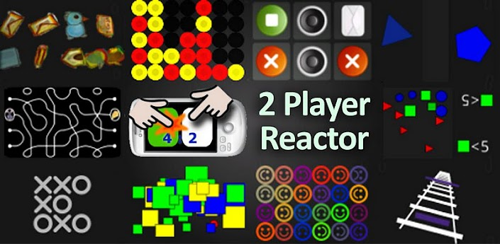 4 player reactor is a fast, clean and funny reaction multiplayer game for two to four players
