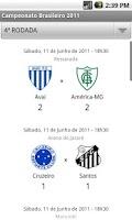 Screenshot of Campeonato Brasileiro 2011