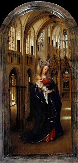 Eyck Jan van, Madonna in chiesa