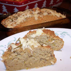 Asiago, Apple and Rosemary Bread