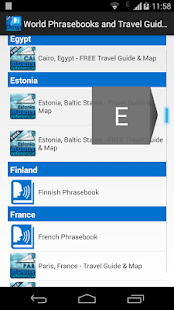 World Phrasebooks & Guides - screenshot