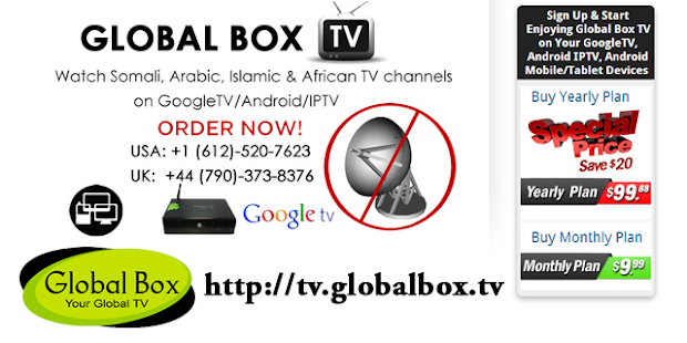 Global Box TV for GoogleTV - screenshot