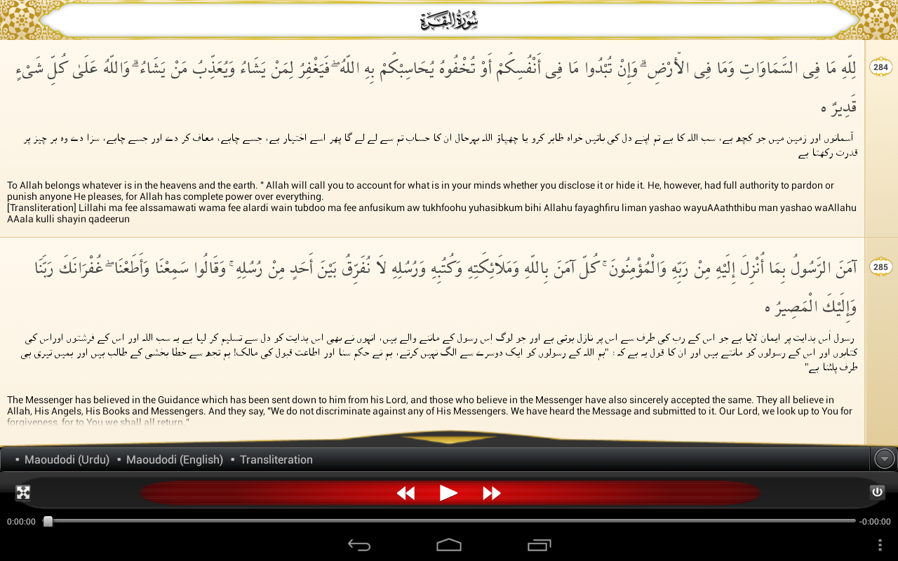 Tafheem-ul-Quran Screenshot 8