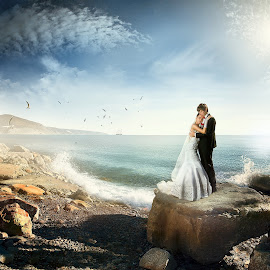 Breeze.. by Dmitry Usanin - People Couples ( bridal, usanin, wedding )