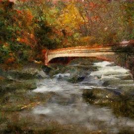 Backroads bridge by Scott Bennett - Painting All Painting