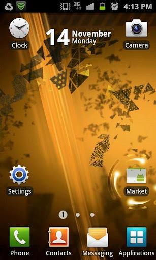 Gold Future Interface LWP