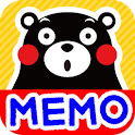 Memo Pad Widget Full KUMAMON icon
