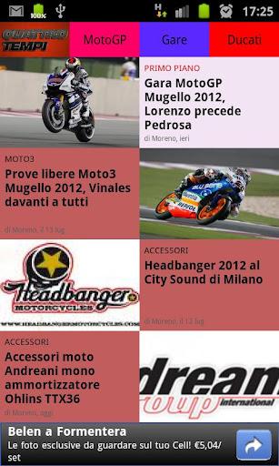 Moto MotoGP e scooter news