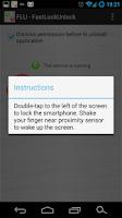 Screenshot of FLU - Fast Lock Unlock Demo