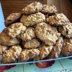 Erin's PB, Chocolate Chip and Oatmeal Cookies