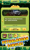 Screenshot of Jungle Rescue Card Battle