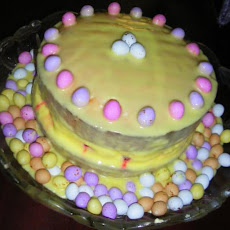 Raspberry & Lemon Spring / Easter Cake