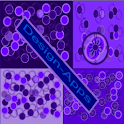 Crazy Home Circles Purples icon