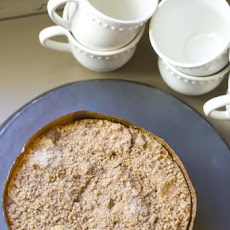 Pumpkin Apple Streusel Cake