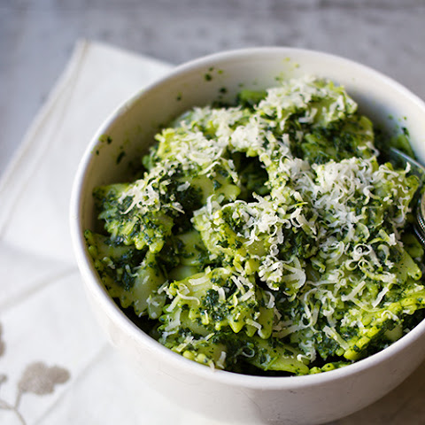 Farfalle with Cavolo Nero Pesto