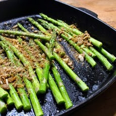 Roast Asparagus with Long Pepper Gremolata
