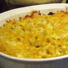 Old-Fashioned Baked Macaroni  & Cheese
