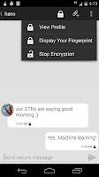 Screenshot of ChatSecure