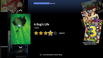 Screenshot of PrimeTime for Google TV