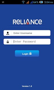 Reliance GSM Employee - screenshot