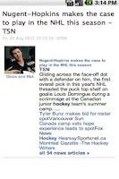 Screenshot of HockeyMash