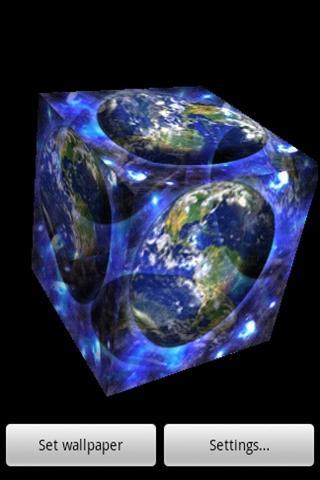 三維藍地球