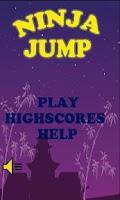 Screenshot of Ninja Jump