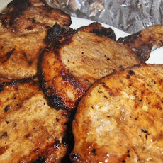 Grilled Margarita Pork Chops