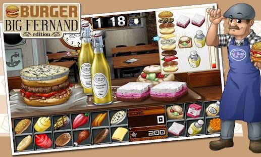 Burger - Big Fernand- screenshot thumbnail