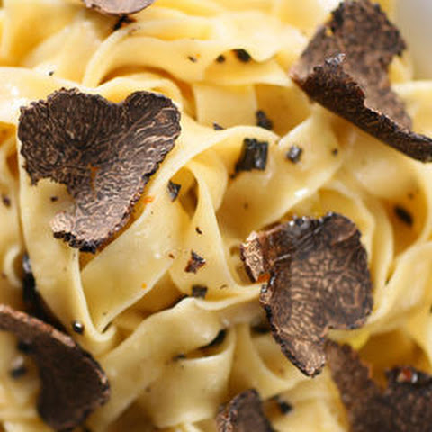 Black Truffles Over Fresh Pasta Recipe — Dishmaps