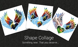 Screenshot of Shape 'O' Collage